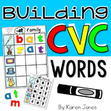 CVC Words {Magnetic Letter Center}