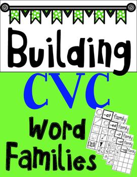 Building CVC Words-Short Vowels