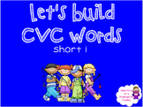 Building CVC Words (short i) Fishing Theme