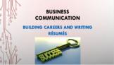 Building Careers and Writing Résumés