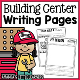 Building Center Writing and Recording Pages