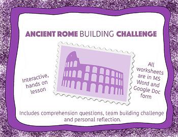 Building Challenge Ancient Rome