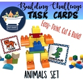 Building Challenge Task Picture Cards - Animal Pack