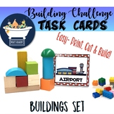Building Challenge Task Picture Cards - Buildings Pack
