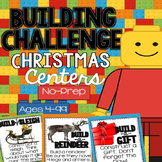 Building Challenges STEM and Writing through Christmas Centers