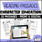 Character Education Reading: 20 Short Passages