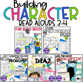 Building Character 3-4 Bundle: Interactive Read-Aloud Lesson Plans