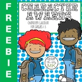 Building Character Awards