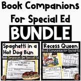 Building Character Book Companion BUNDLE for Special Education