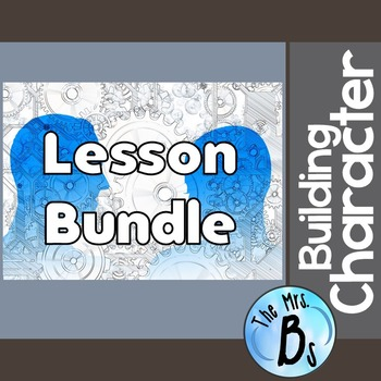 Building Character Lesson Bundle - Multiple Intelligences, SMART Goals, & MORE!