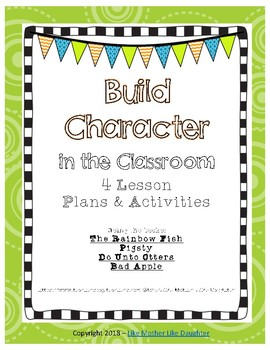 Building Character Lesson Plans and Activities: Manners, S