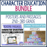 Character Education Poster and Passages BUNDLE