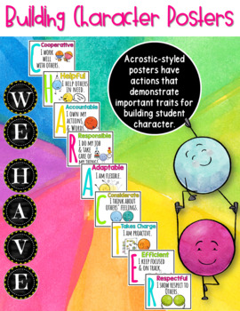 Character Education Posters / Building Character in Students