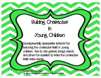 Building Character in Young Children