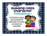Building Class Character