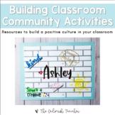 Building Classroom Community Activities