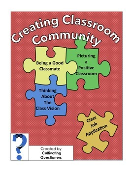 Building Classroom Community Pack: A Toolkit for Creating Class Culture