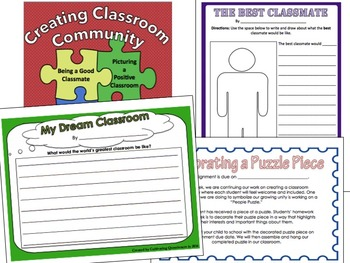 Building Classroom Community and Classroom Rules Bundle