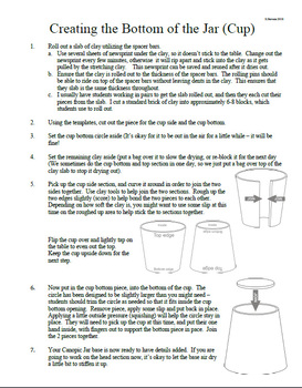 Building Clay Canopic Jar Instructions (Ancient Egypt)