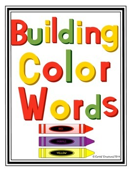 Building Color Words
