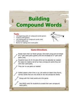 Building Compouind Words
