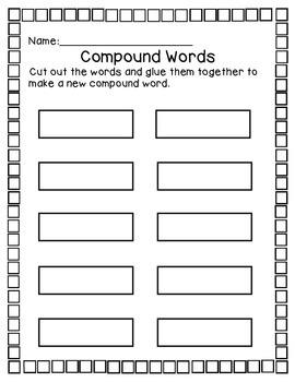 Building Compound Words