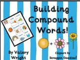 Building Compound Words Concentration Cards