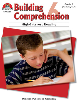 Building Comprehension - Grade 6