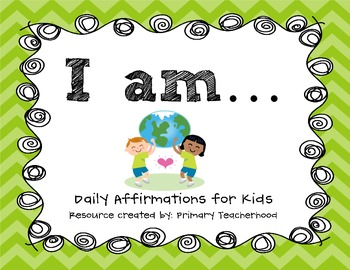 Building Confidence & Positive Self Talk: Daily Affirmations for Kids