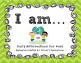 Building Confidence & Positive Self Talk: Daily Affirmatio