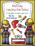 Building Construction Relay! template - Personal Use Only!
