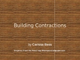 Building Contractions - 1st grade