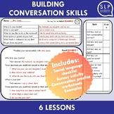 Building Conversation Skills Pragmatic Language Lessons fo