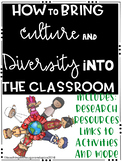 Building Culture and Diversity in your Classroom: Tips, Tr