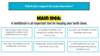 Building Detail Sentences in Expository Essays: One Fact