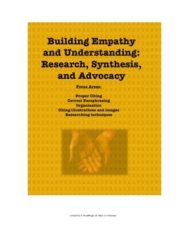 Building Empathy and Understanding: Research, Synthesis, and Advocacy