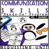 Hands On Program: Requesting Unit Speech Language Therapy (Animals)