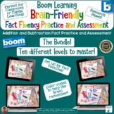 Building Fact Fluency Addition and Subtraction System Boom
