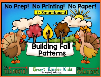 Building Fall Patterns on the Smartboard