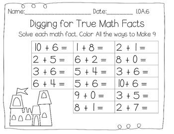 Building Fluency - Addition Practice