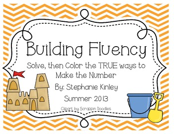 Building Fluency - Addition Practice