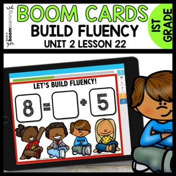 Building Fluency BOOM CARDS [Module 2 Lesson 22]