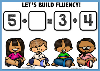 Building Fluency BOOM CARDS [Module 2 Lesson 23]