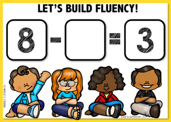 Building Fluency BOOM CARDS [Module 2 Lesson 24]