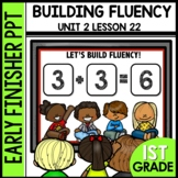 Early Finishers Activities | Building Fluency [addition se
