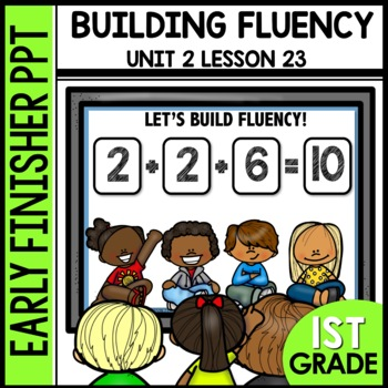 Building Fluency [addition sentences] EARLY FINISHER POWERPOINT