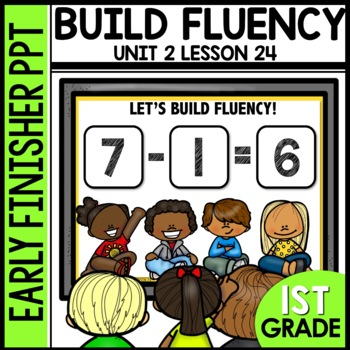 Early Finishers Activities | Building Fluency | subtraction sentences