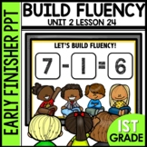 Early Finishers Activities | Building Fluency | subtractio