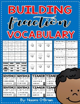 Building Fraction Vocabulary