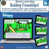 Building Friendships  Boom Learning Digital Task Cards